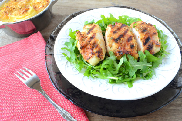 Grilled Chicken Involtini Messinese