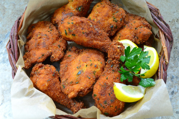 Maria's Sicilian Style Breaded Fried Chicken